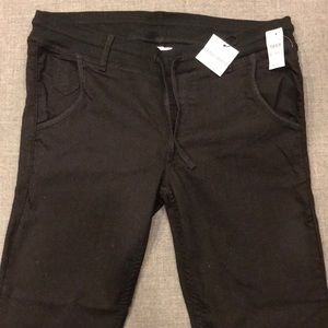 GAP Stretch Black Legging Jean Size 27